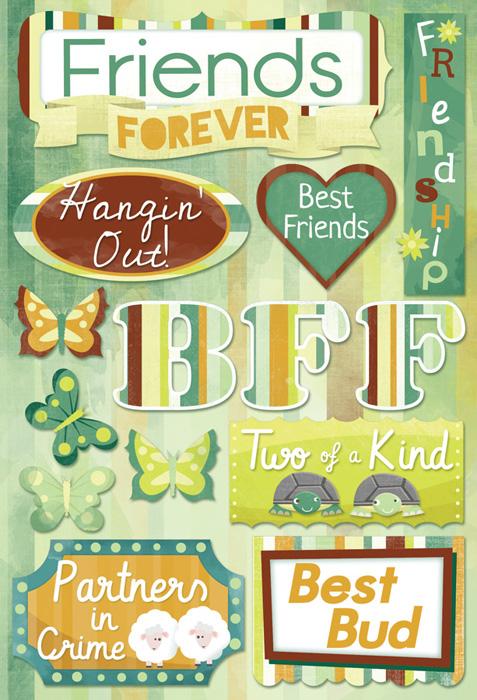 Karen Foster Design Best Friends Collection Cardstock