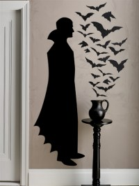 Martha Stewart Crafts - Halloween - Wall Clings - Vampire