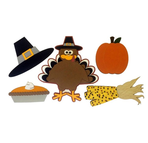 Paper Wizard Holiday Turkey Minis Die Cuts