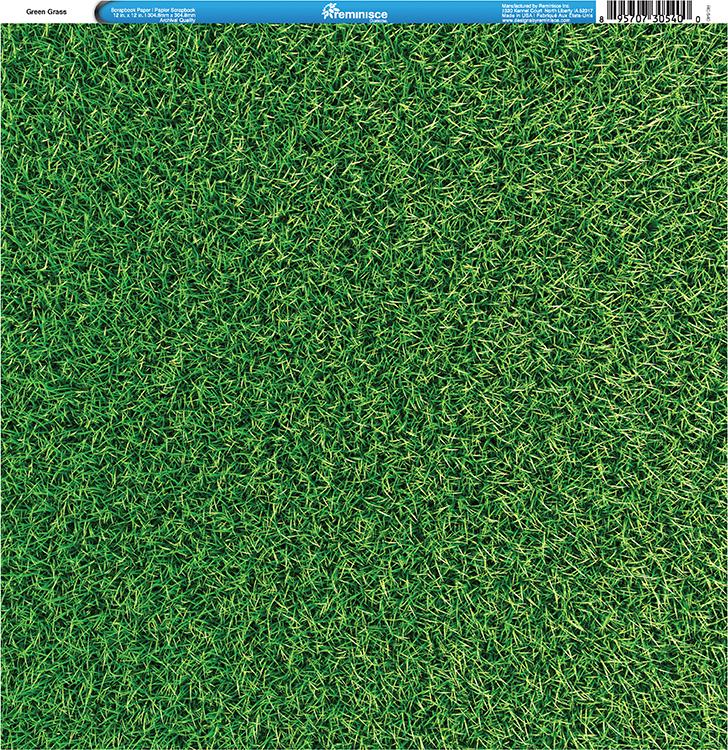 Reminisce Golf Green Grass Paper