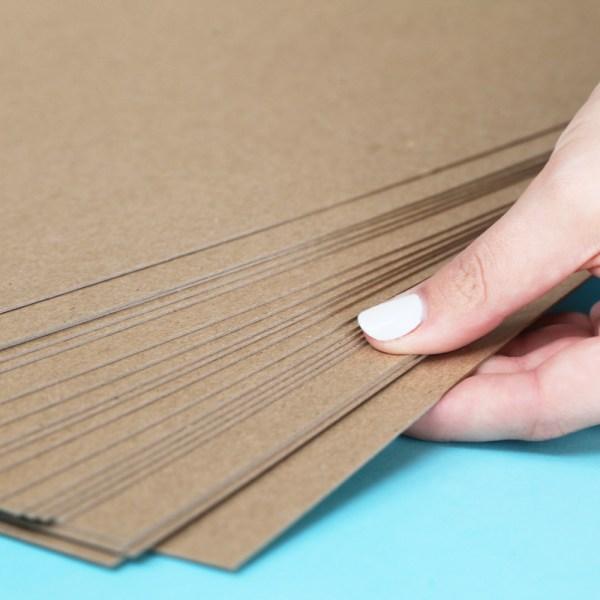 Umbrella Crafts - 12 X Thin Chipboard Pack 20 Sheets