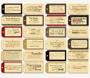 7 Gypsies Tag Quotes Pack Family
