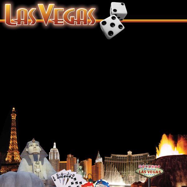 Scrapbook Customs United States Collection Nevada 12 X 12 Paper Las Vegas