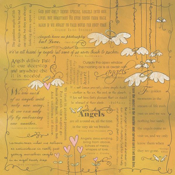 Scrapbook Customs Religious Collection 12 X 12 Paper