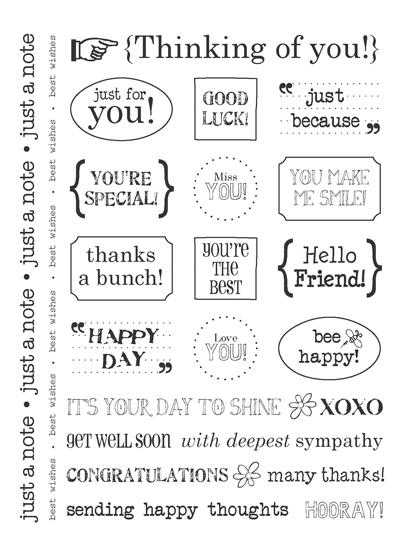 SRM Press Inc Card Collection Stickers Sentiments