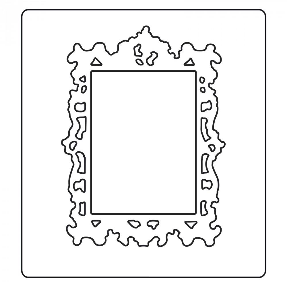 Sizzix Tim Holtz Alterations Ornate Frame 2 Bigz Die