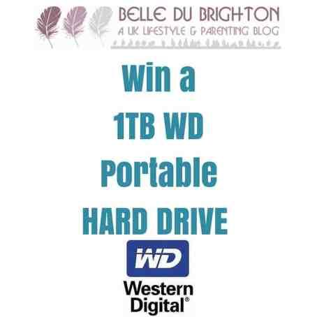 Win a portable hard drive