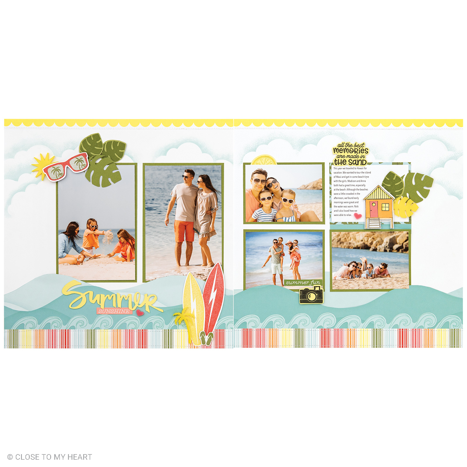Summer Vibes Layout