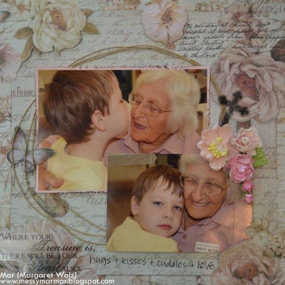Weekly Scrapbook Challenge #25/2014 - Margaret Walz