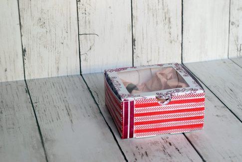 Une boîte à douceurs décorée