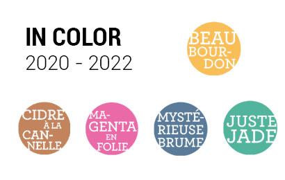 Zoom sur les Incolor 2020-2022