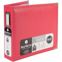 We R Classic Leather Ring Binder  8x 8 | Scrapbook Your ...