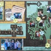 Together we are family | Mi Casa Scrapbook Paper | Scrap Collections