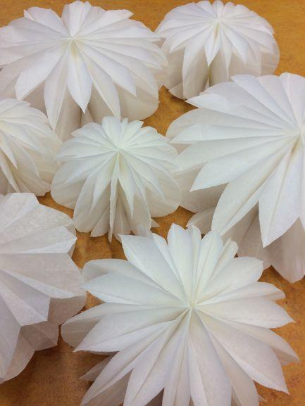 Schicke Papierblumen Www Scrapgöre De
