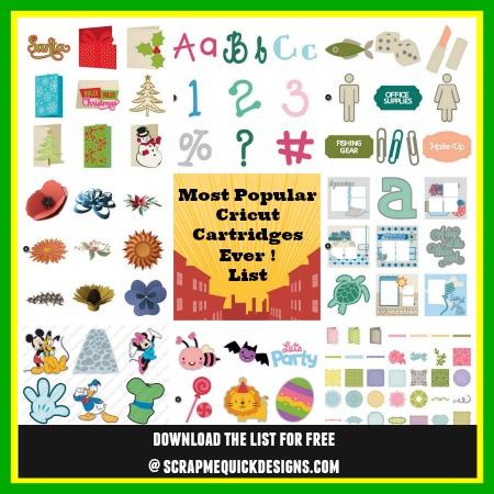 Most Popular Cricut Images And Fonts List Scrap Me Quick Designs