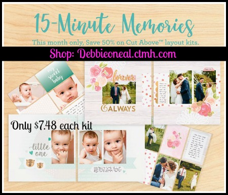 What's 15 Minute Memories ? - Scrap Me Quick Designs