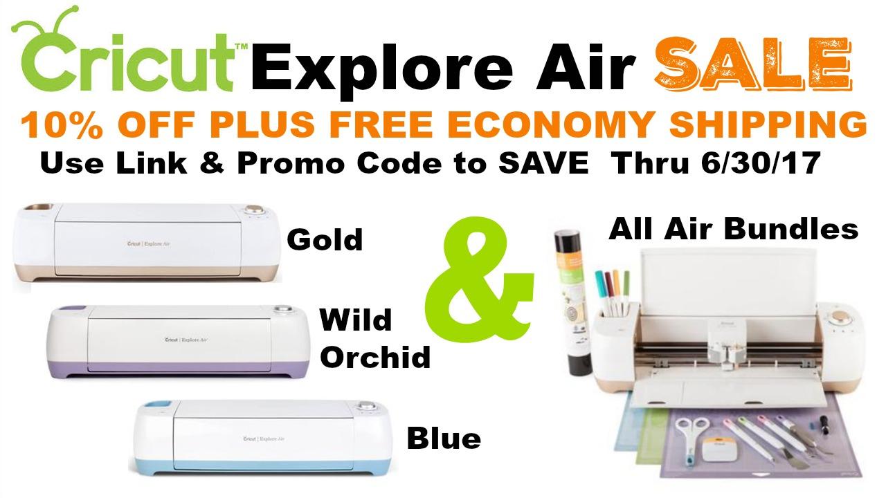 Video]Cricut Explore Air Sale - Scrap Me Quick Designs