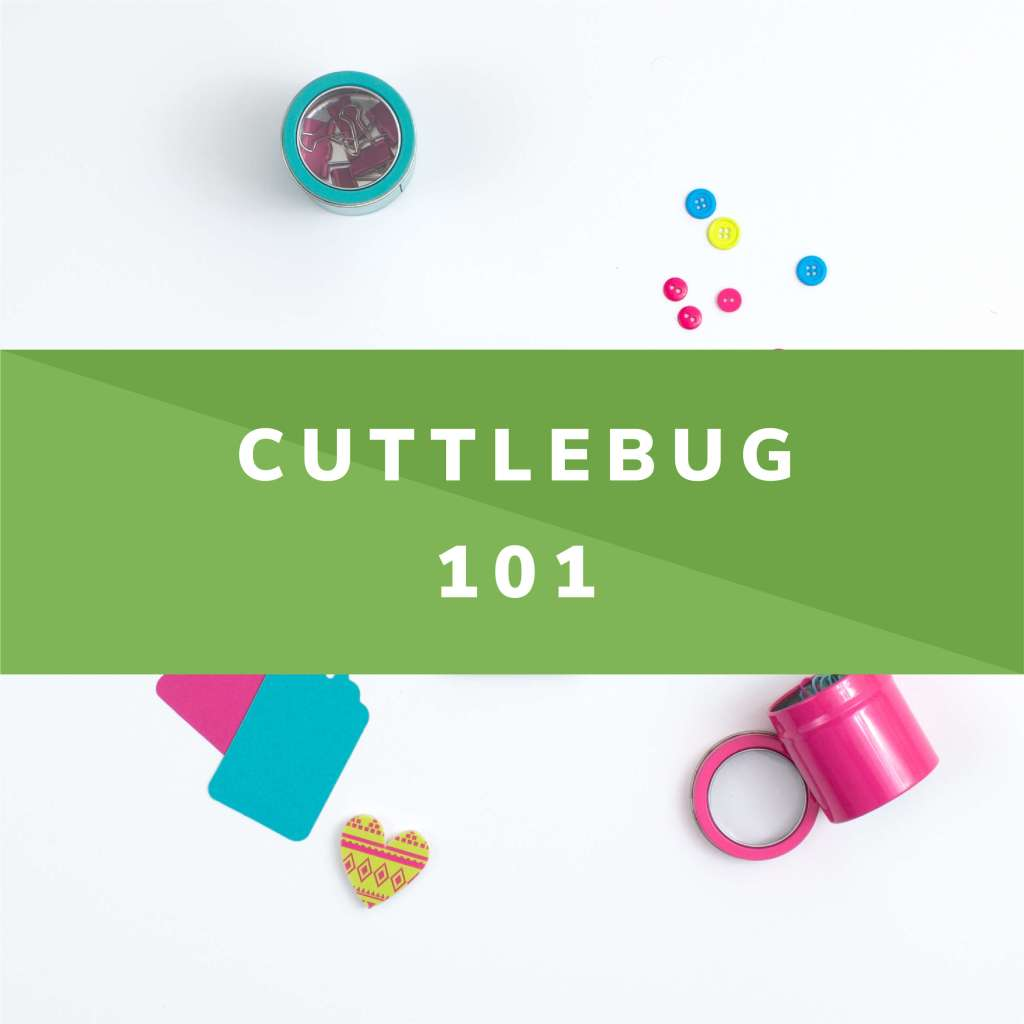 how to use the cuttlebug with thin dies