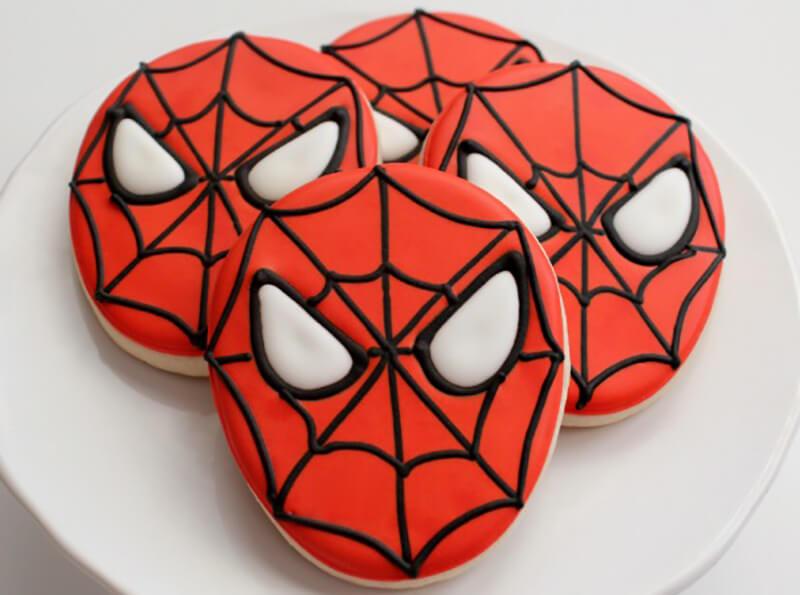 Galletas De Spiderman Paso A Paso