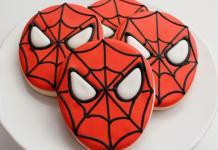 Galletas de Spiderman