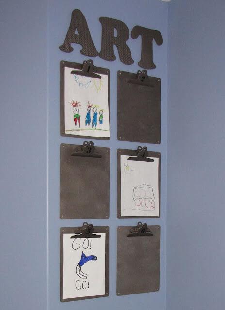 Formas Chulas de Guardar los Dibujos de Nuestros Hijos