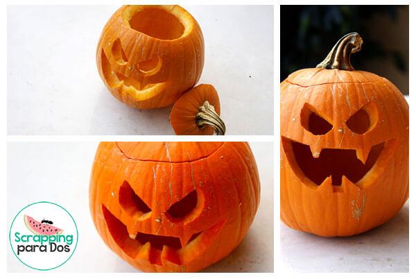 Calabaza de Halloween - Cómo Hacerla