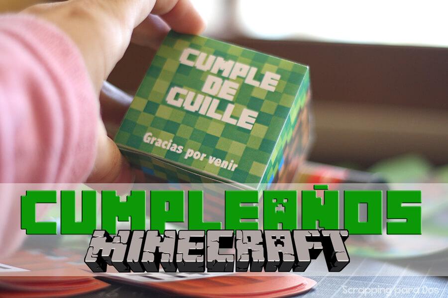 Fiesta De Cumpleanos Minecraft Imprimibles Gratis