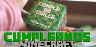 fiesta de cumpleaños Minecraft