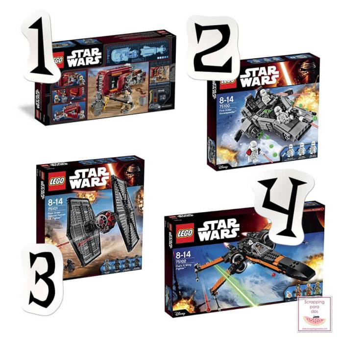 Nuevos Sets de LEGO Star Wars