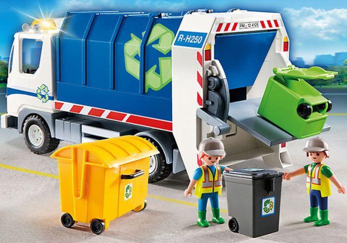 camion-reciclaje-playmobil-con-luces