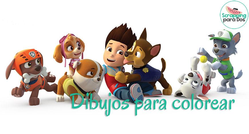 Dibujos Patrulla Canina En Color: Dibujos Para Colorear De La Patrulla Canina