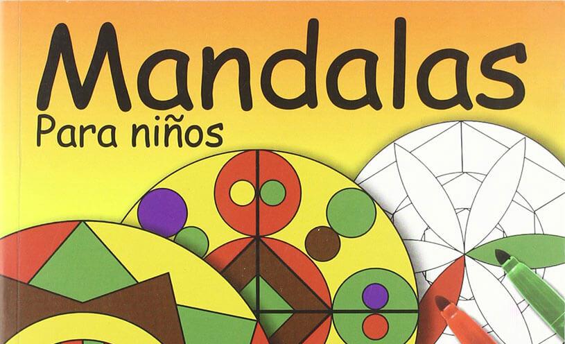Libros De Colorear Mandalas Para Niños