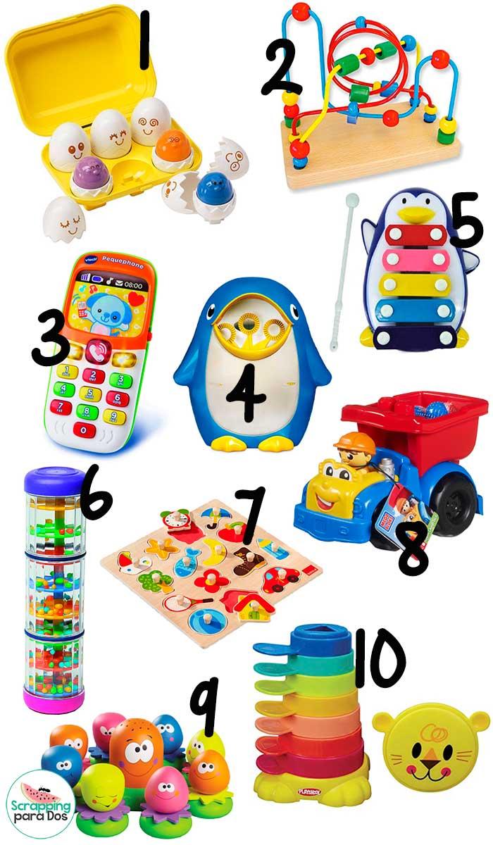 los mejores juguetes para nios de ao
