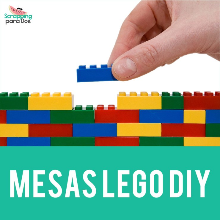 Mesas LEGO DIY