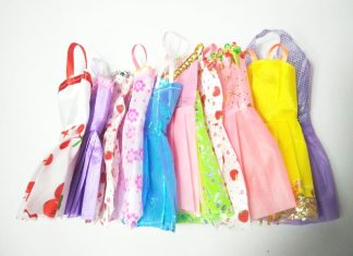 vestidos baratos para muñecas