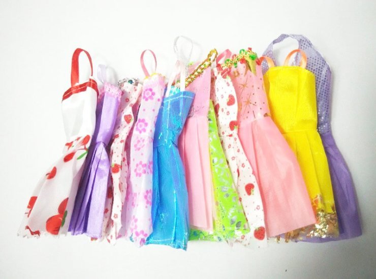 Vestidos para Muñecas Baratos