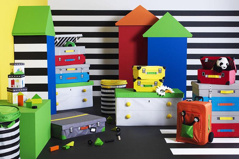 Flyttbar almacenaje para ni os de ikea - Ikea almacenamiento ninos ...