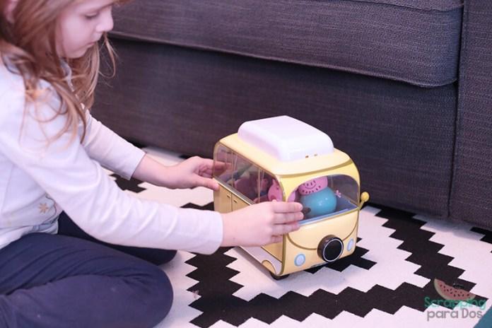 Caravana de Peppa Pig para niños