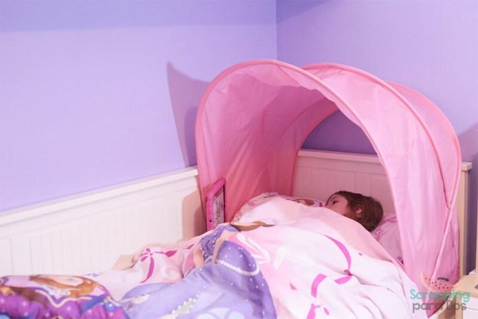 dosel de ikea para cama de niños