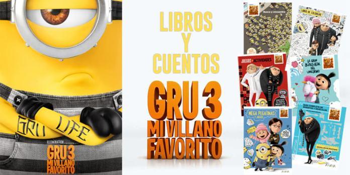 libros y cuentos de Gru 3