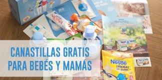 canastillas gratis para bebés y mamás