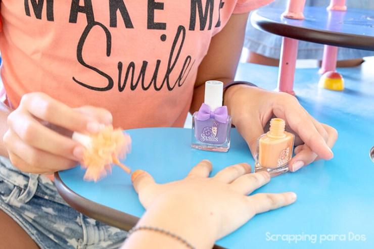 esmalte de uñas para niños