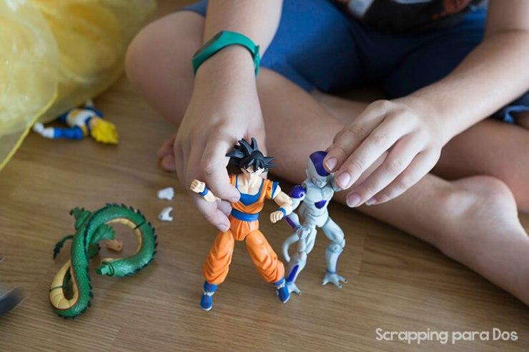 Juguetes de Dragon Ball de Bandai
