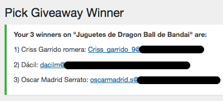 ganadores figuras dragon ball super