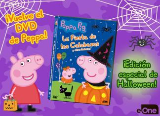 dvd peppa pig halloween