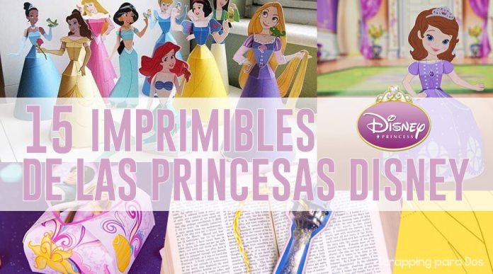 Imprimibles de Princesas Disney