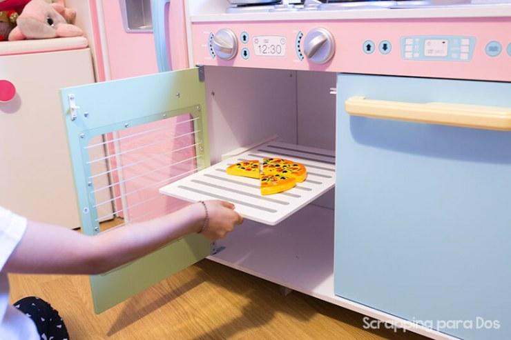 cocinas para jugar Kidkraft de madera