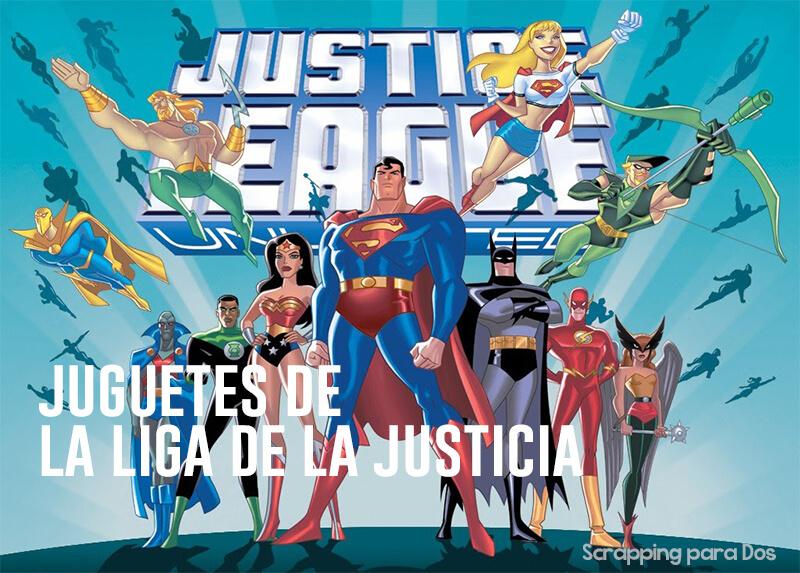 juguetes de la liga de la justicia