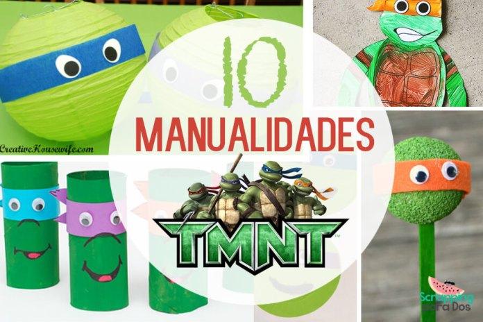 Manualidades de las Tortugas Ninja
