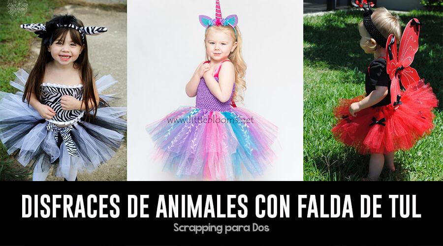 2d94f3dac Disfraces De Animales con Falda de Tul